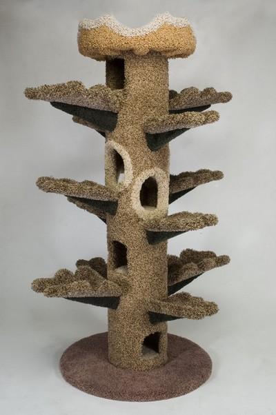 Своими руками поделки из дерева для кошек 34